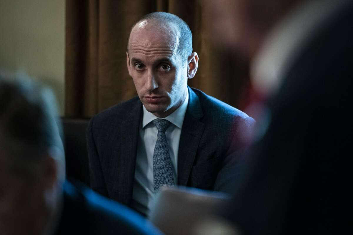 Stephen Miller is a White House aide who advises President Donald Trump on immigration matters.