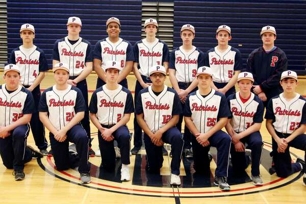 Members of the Unionville-Sebewaing Area varsity baseball team are (front row from left) Nic Lutz, Rocky Hahn, Evan Goslin, Cruz Fernandez, Braden Carter, Caden Finkbeiner and Chase Payne (back row) Joshua Eurich, Keegan Bixman, Jalen Gangler, Cody Babcock, Zach Soper, Jeremiah Hahn and Tyler Osantowske. USA Baseball  1 Cody Babcock 2 Evan Goslin 5 Jeremiah Hahn  8 Jalen Gangler 9 Zach Soper 10 Caden Finkbeiner  12 Cruz Fernandez 20 Rocky Hahn 23 Chase Payne  25 Braden Carter 24 Keegan Bixman 32 Nic Lutz Coach  Tyler Bader  Schedule  April 12 vs. Brown City  April 17 vs. BCAS  April 23 at Capac  April 25 at Caro* April 29 vs. Harbor Beach  May 2 at Cass City*  May 4 Meridian Invitational  May 6 at Marlette May 8 vs. EPBP* May 13 vs. Reese* May 17 at Vassar* May 18 Home Run Derby at USA May 20 vs. Sandusky  May 23 vs. Bad Axe* *League Game
