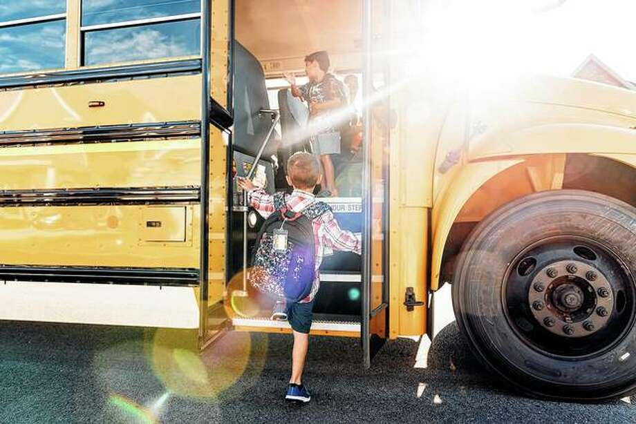 A measure approved by the House would increase the fine for passing a school bus with its stop sign arm extended from $150 to $300 for the first offense and from $500 to $1,000 for the second offense. Photo: Getty Images
