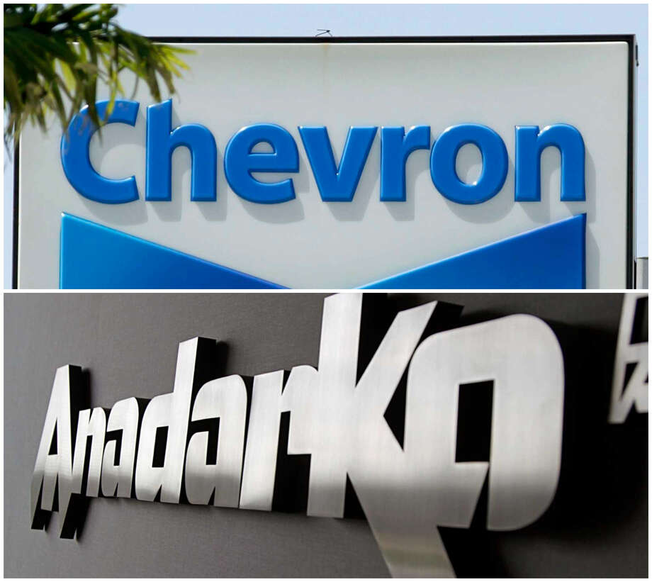 Chevron said on Friday, April 12, 2019, that it will buy Anadarko Petroleum for $33 billion in the biggest industry megadeal in years. Photo: Associated Press / James Nielsen