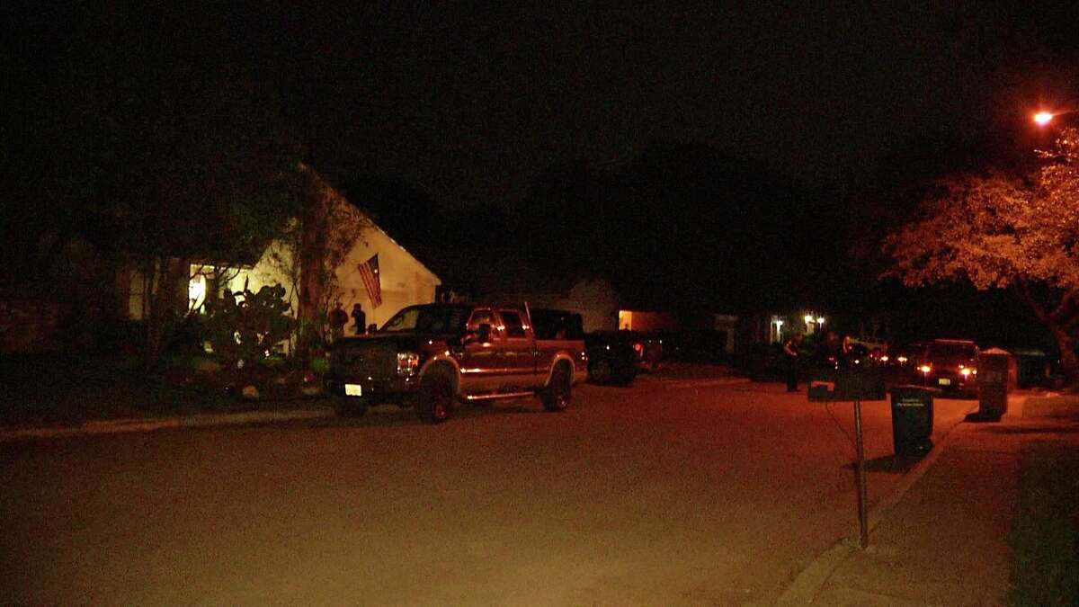 San Antonio Police are investigating a shooting on the city's North Side after officers say a homeowner shot a vehicle burglary suspect.
