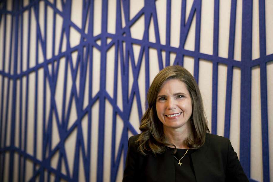 Tellurian Inc. CEO Meg Gentle in an March 2019 photo. Houston-based Tellurian is progressing on its efforts to build a $28 billion LNG project in Louisiana and this week finalized a major investment deal with French oil major Total SA. Photo: Brett Coomer, Houston Chronicle / Staff Photographer / © 2019 Houston Chronicle