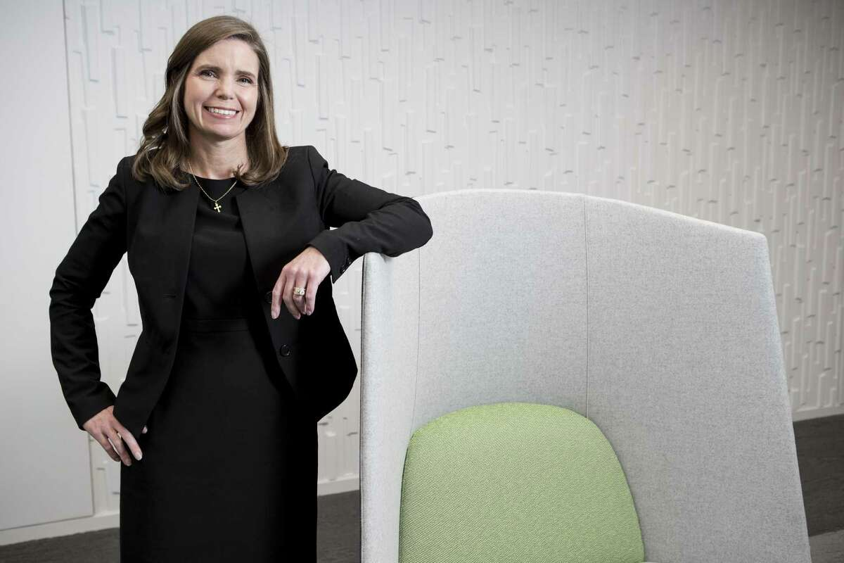Meg Gentle is president and CEO of Tellurian Inc., a company that is is the process of building a liquefied natural gas export terminal on the Gulf Coast.