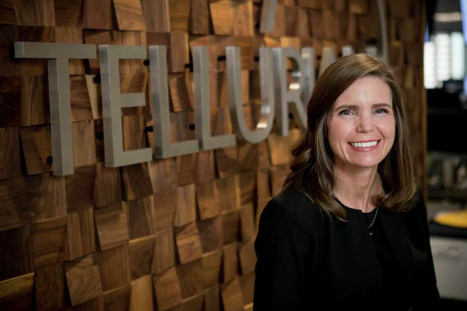 Meg Gentle is president and CEO of Tellurian Inc., a Houston company that has proposed a huge new  liquefied natural gas export terminal on the Gulf Coast. Tellurian cleared another permitting milestone Thursday for its proposed Driftwood LNG project in Louisiana. Photo: Brett Coomer,  Houston Chronicle / Staff Photographer / © 2019 Houston Chronicle