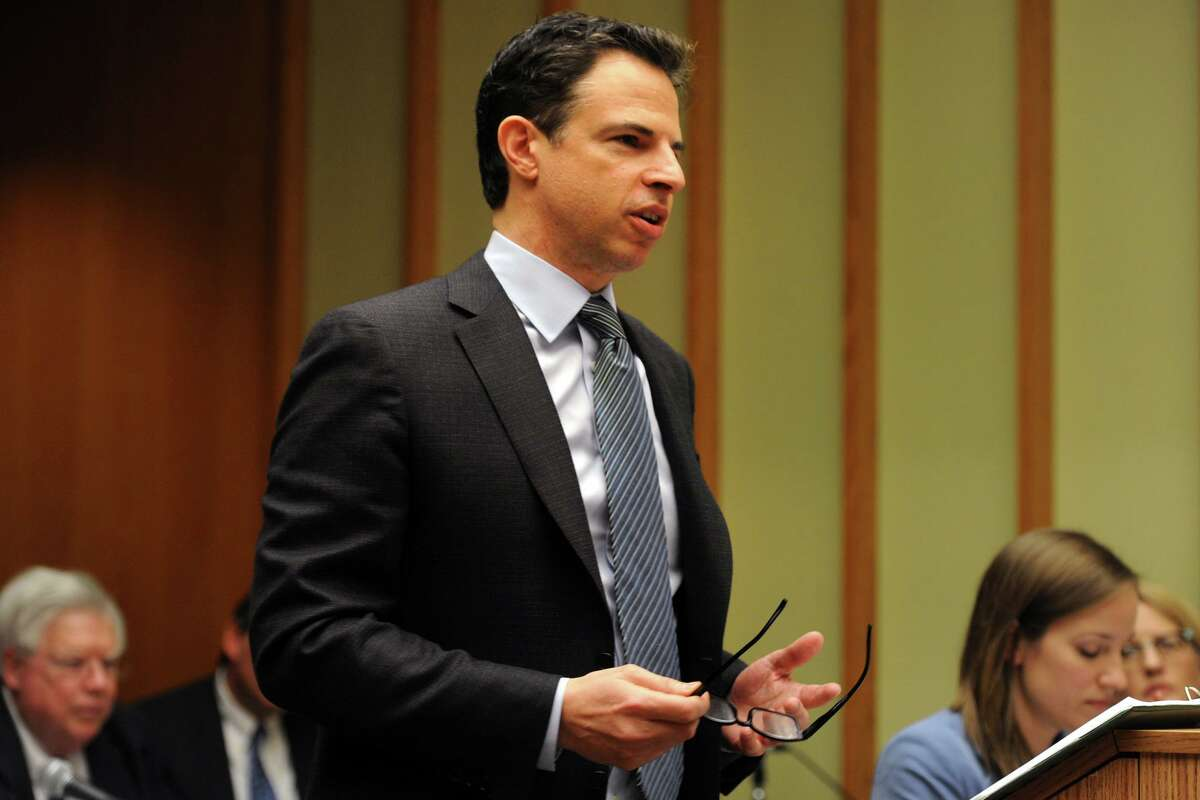 Attorney Joshua Koskoff, who represents a group of families of some of the Sandy Hook Elementary School shooting victims.
