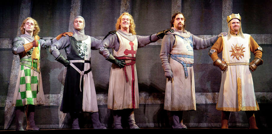 The Spamalot cast Photo: Courtesy Of Scott Suchman