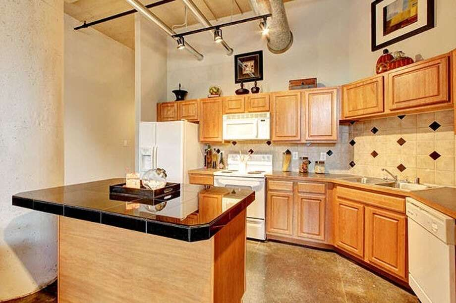 Located at 2112 Runnels Street, here's an 800-square-foot one-bedroom, one-bathroom loft that's listed for $1,400/month.