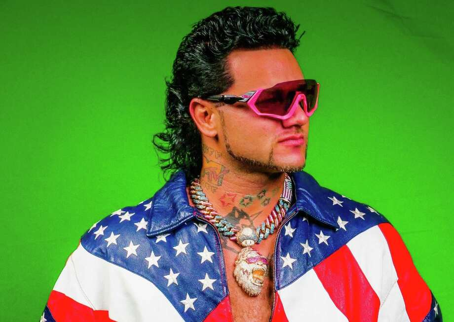 'Pink Python' is the new album from Houston rapper Riff Raff. Photo: Big Machine Media