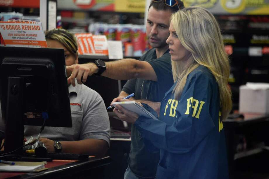 The Houston FBI Field Office is currently recruiting agents from the Houston-area. (File photo) (Photo by Michele Eve Sandberg / AFP)MICHELE EVE SANDBERG/AFP/Getty Images Photo: MICHELE EVE SANDBERG, Contributor / AFP/Getty Images / AFP or licensors