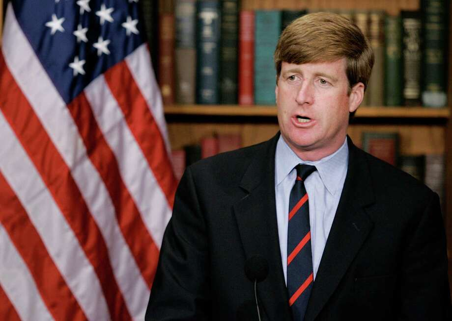 Rep. Patrick J. Kennedy (D-RI) speaks during a news conference on Capitol Hill May 5, 2006, in Washington, D.C. Photo: Mark Wilson / Getty Images / Getty Images North America