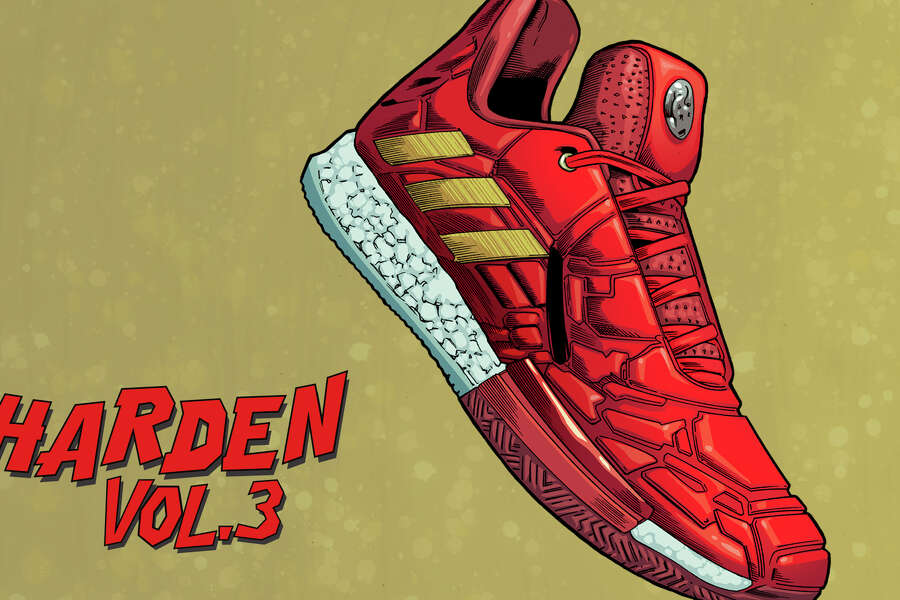 wholesale dealer 2e7e1 83da6 2of26Adidas teamed up with Marvel for a Heroes Among Us limited-edition  sneaker collection that launches April 26, 2019. This is the James  Harden Iron Man ...