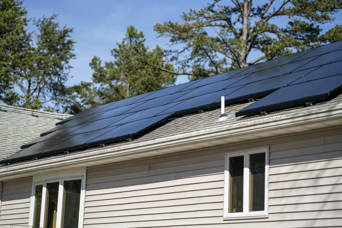VINCENTOWN, NJ: MARCH 28, 2019 Al Morgan's home in Vincentown, New Jersey on March 28, 2019. Mr. Morgan leased a solar panel system from Sunnova, a company based in Houston, after he was assured he'd pay a lot less for electricity. He now claims is bill is even higher than before. (Jessica Kourkounis for the Houston Chronicle)