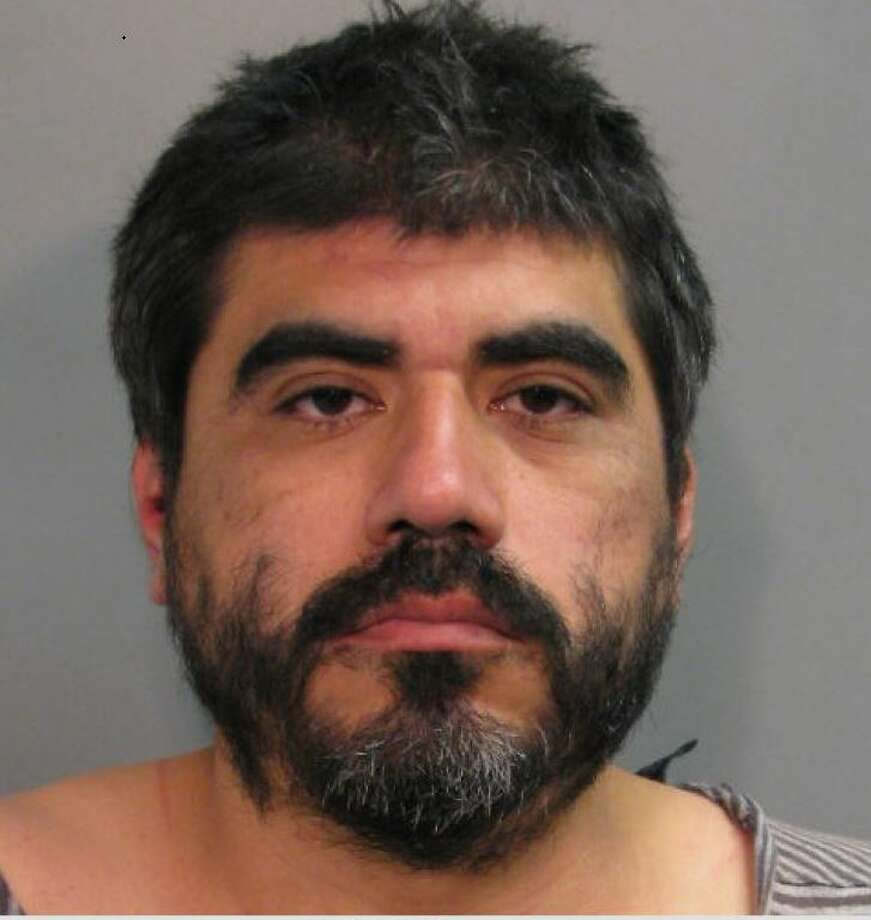 Mark Vargas was arrested and charged with indecent exposure. Photo: Harris County Constable Precinct 4.