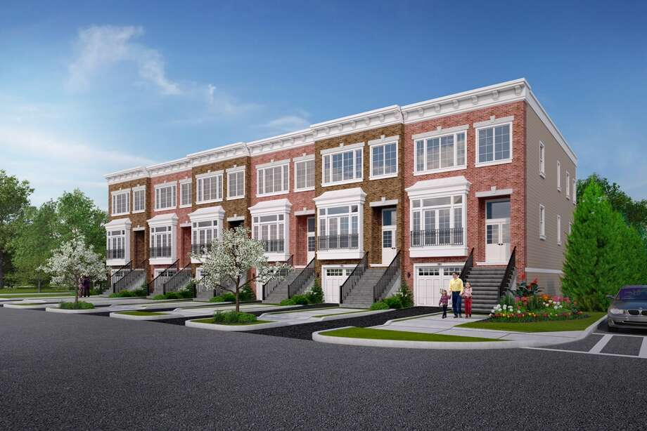 A drawing of what the Townhomes on Belvidere will look like when complete this spring. (Provided)