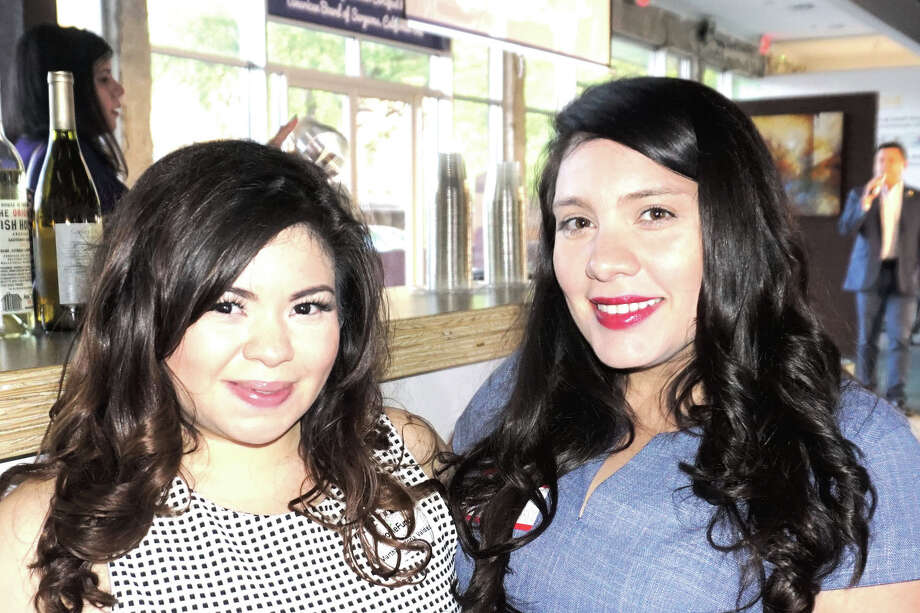 Martha Victoria Valdez and Amber Avis at Mile One Photo: Laredo Morning Times