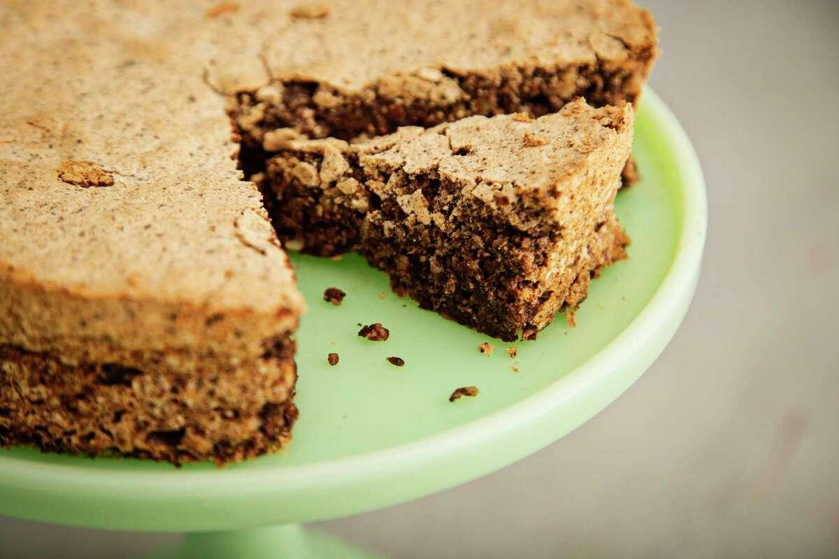 Chocolate Almond Tweed Torte