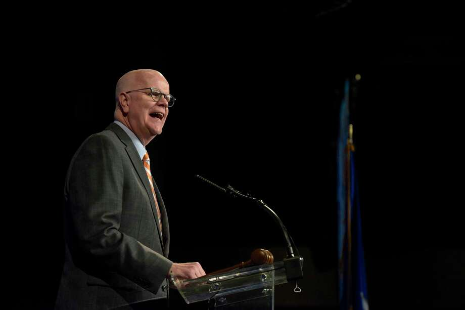 Kevin Lembo Photo: H John Voorhees III / Hearst Connecticut Media / The News-Times