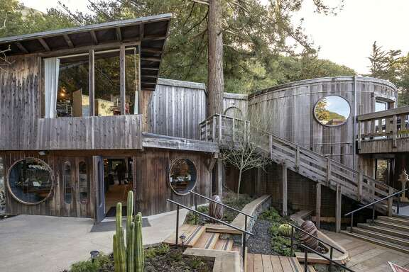 Located along Highway 1, Coast's building is made out of large redwood water tanks. Now, it houses an art gallery, shop and cafe from chef Nick Balla.