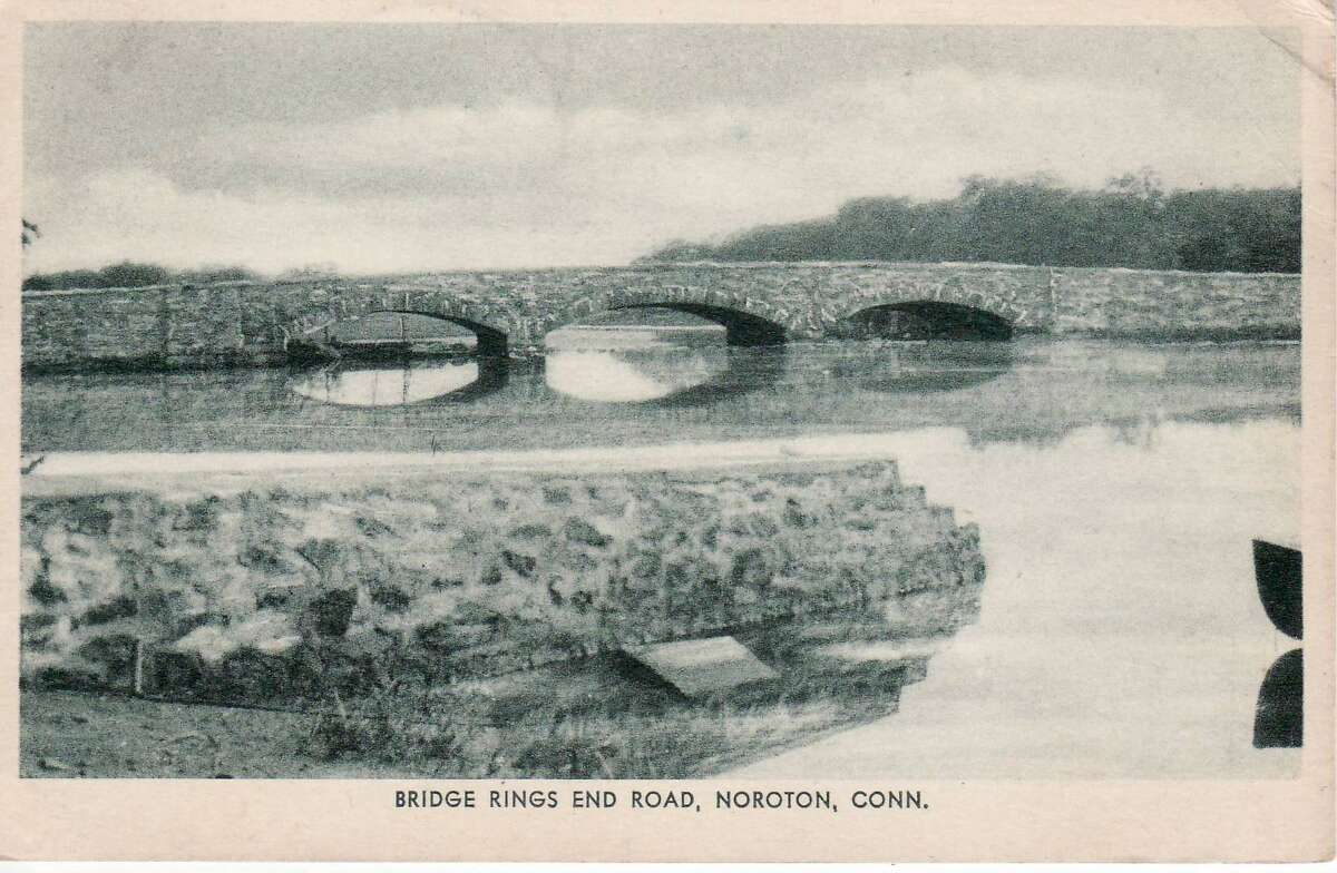 The stone bridge at Rings End Landing was built in 1930, and still stands today.