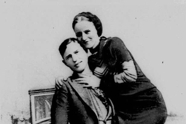 This is an undated photo of Clyde Barrow and Bonnie Parker, who spent some of their short lives in the Dallas area. The Legend of Bonnie and Clyde bus tour is a once-a-year event sponsored by the Dallas Historical Society which offers glimpses of the outlaws' lives through anecdotes and visits to sites of key events in the Dallas area.