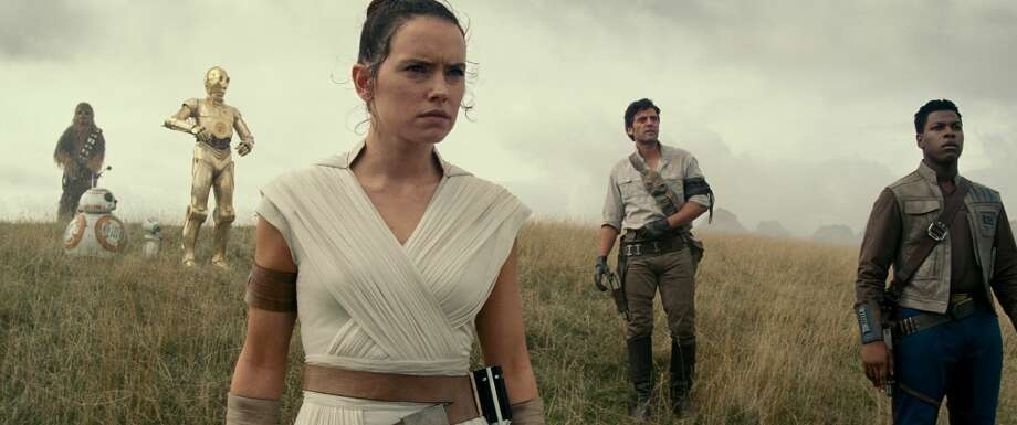 "This image released by Lucasfilm Ltd. shows Daisy Ridley as Rey in a scene from ""Star Wars: Episode IX."" (Lucasfilm Ltd. via AP) Photo: Lucasfilm Ltd./Associated Press"