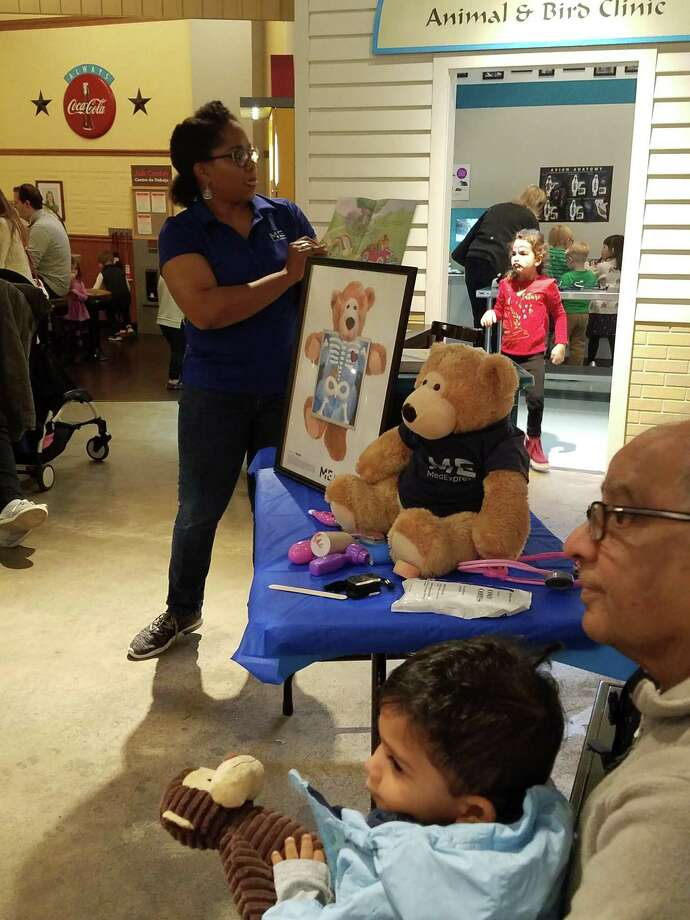 "The Discovery Center will host a ""MedExpress Teddy Bear Clinic"" to teach basic health care concepts to children in pre-school and kindergarten. Photo: Fort Bend Children's Center"
