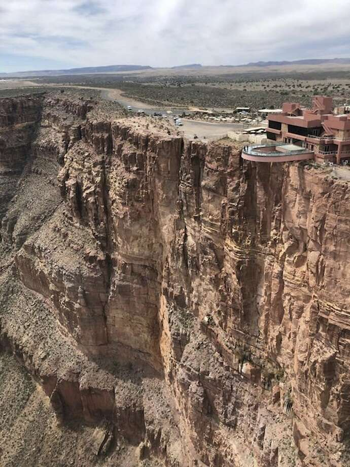 A Santa Rosa man fell to his death from the South Rim of the Grand Canyon on April 3, 2019. This photo, taken March 28, 2019, shows the area where a tourist slipped and fell to his death at the Grand Canyon on the Hualapai reservation in northwestern Arizona. (Mohave County Sheriff's Office via AP) Photo: / Associated Press