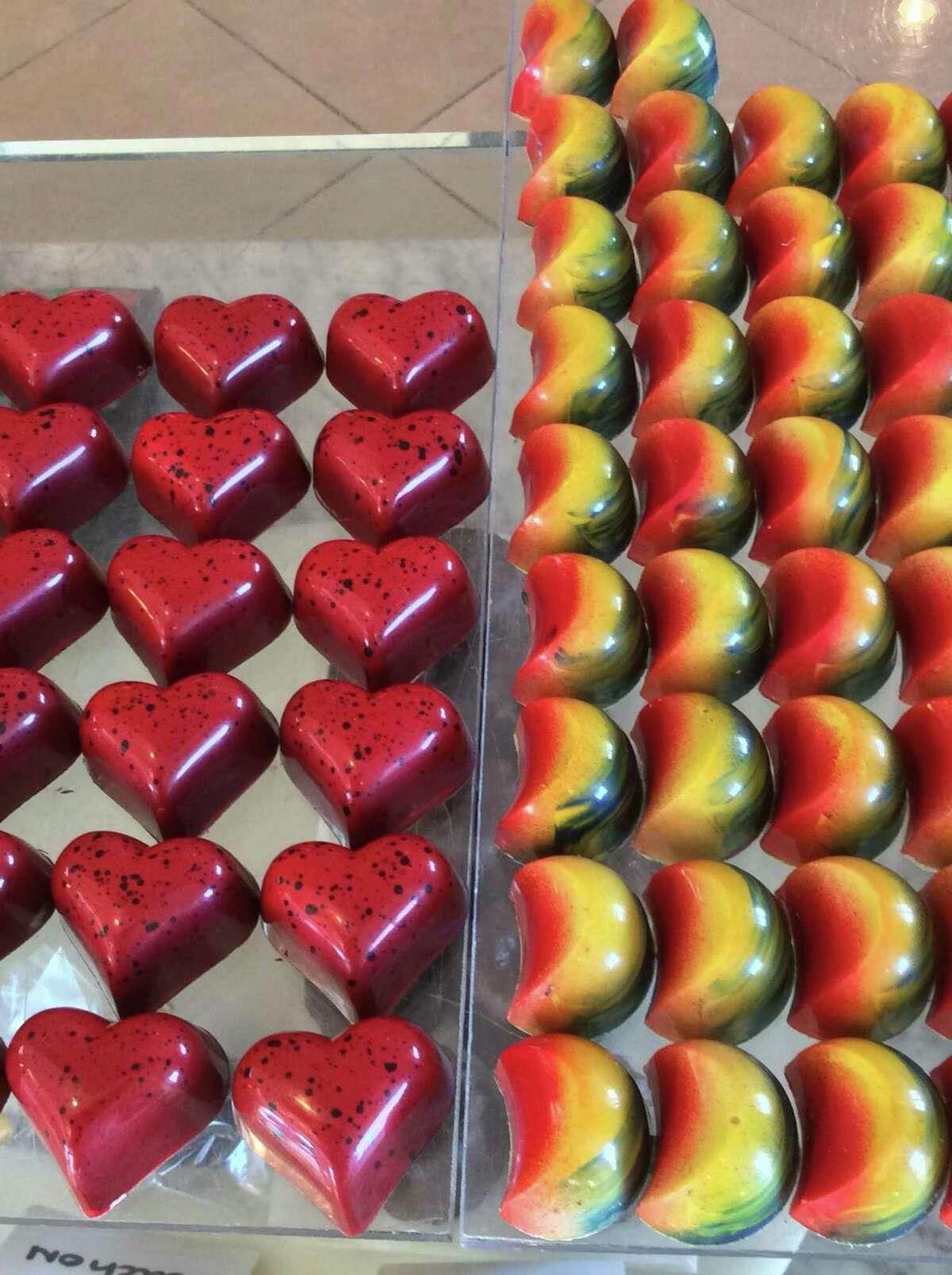 Chocolates are works of art at William Dean Chocolates.