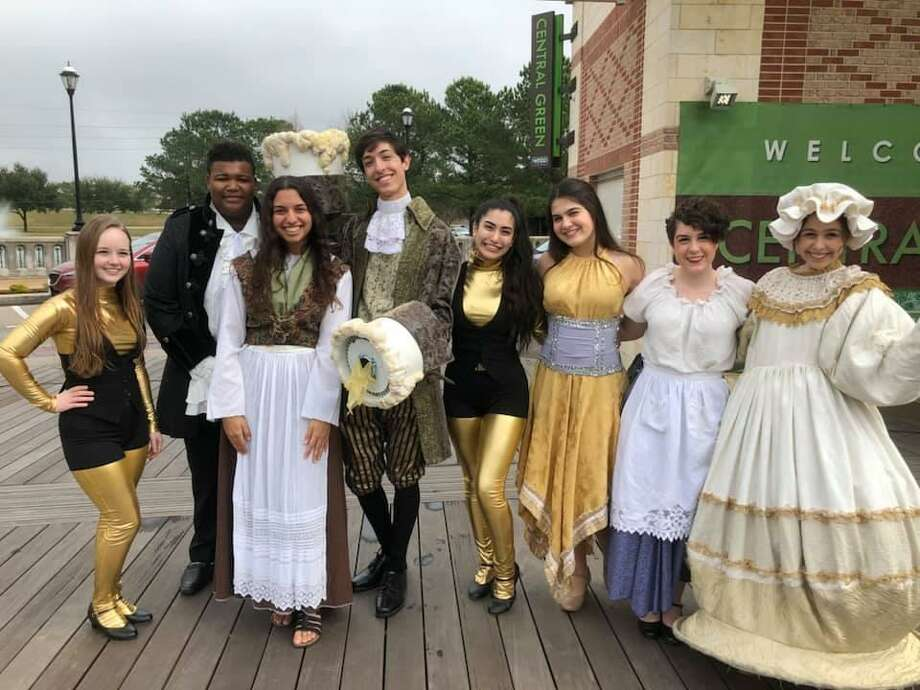 """Studio VII Theater Co. performers in """"Beauty and The Beast"""" previewed their musical in February at Central Green Park. Photo: Https://www.facebook.com/StudioVIITheatreCo / Https://www.facebook.com/StudioVIITheatreCo"""