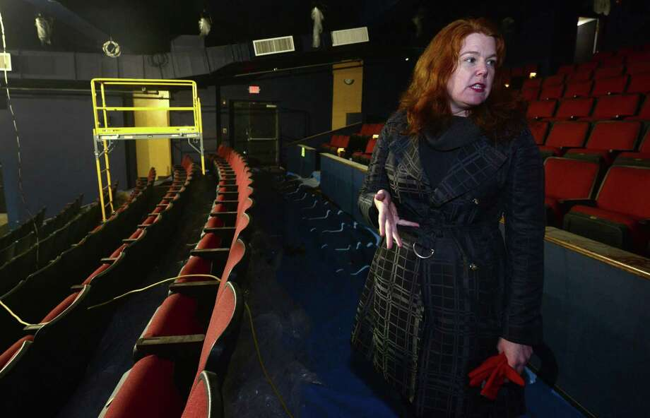 The Wall Street Theater's Suzanne Cahill, above in 2017, will provide a sneak peek into the process of revitalizing the historic theater and creating an environment that not only nurtures talent, but entertains the public. Photo: Hearst Connecticut Media File Photo / Norwalk Hour