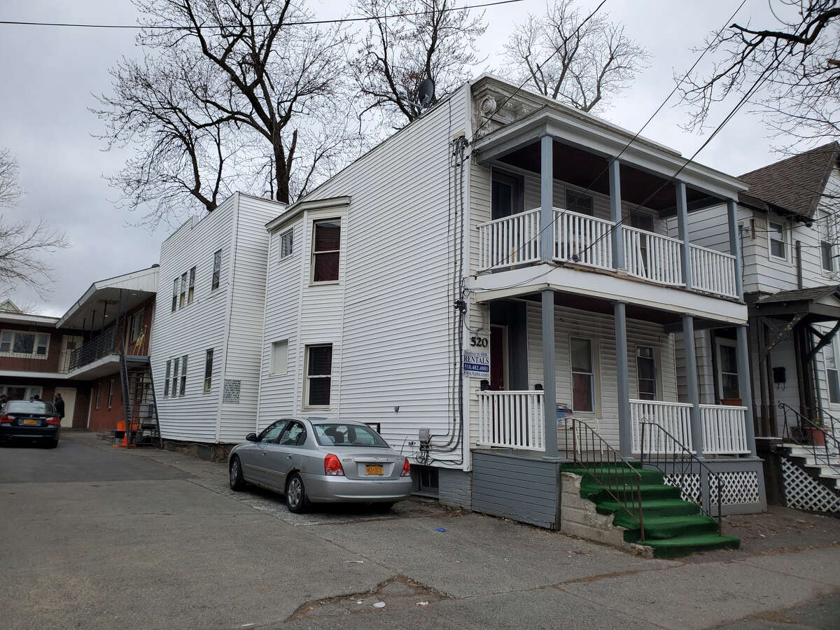 Residents of a building at 520 Hamilton Street in Albany are complaining of poor conditions, including mold problems. The building is owned by Judd Feinman, a significant property owner in the Pine Hills section of the city.