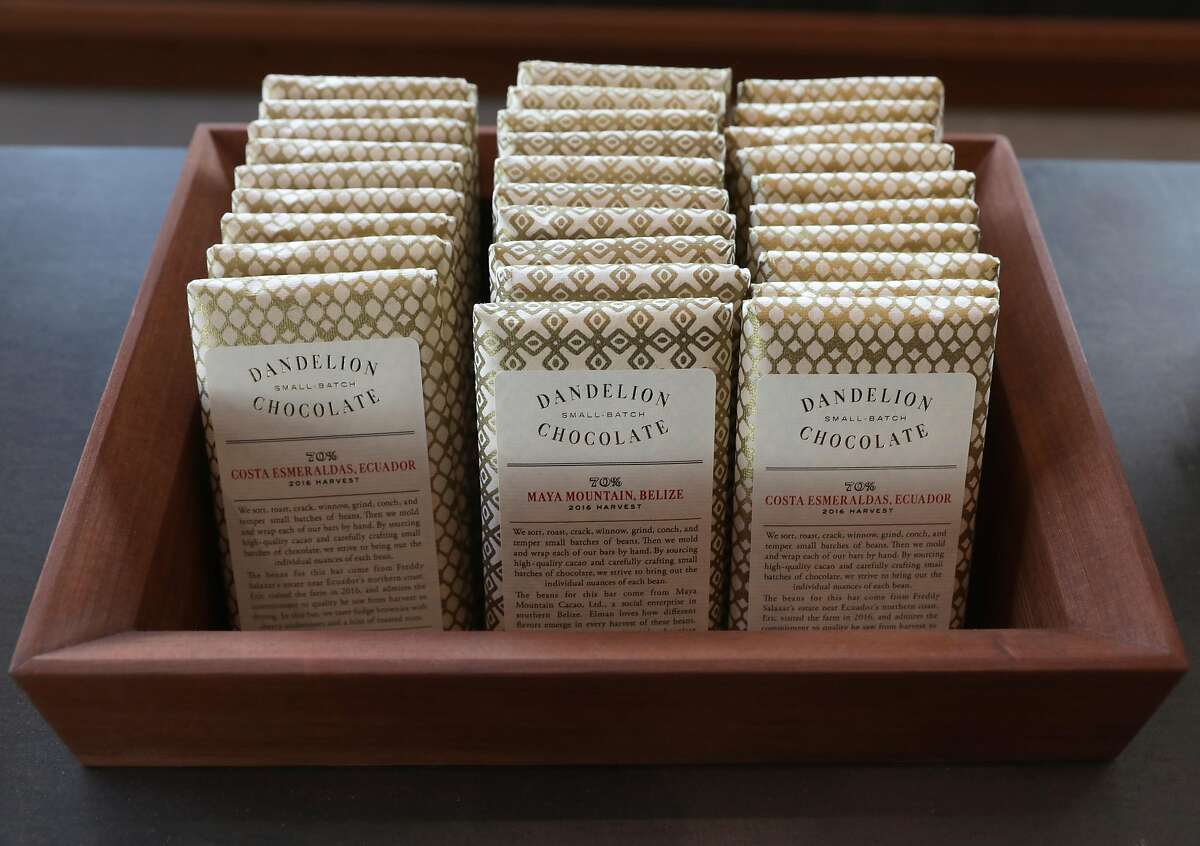 Dandelion says the layoffs were necessary because demand for its $10 to $18 artisan chocolate bars has fallen.