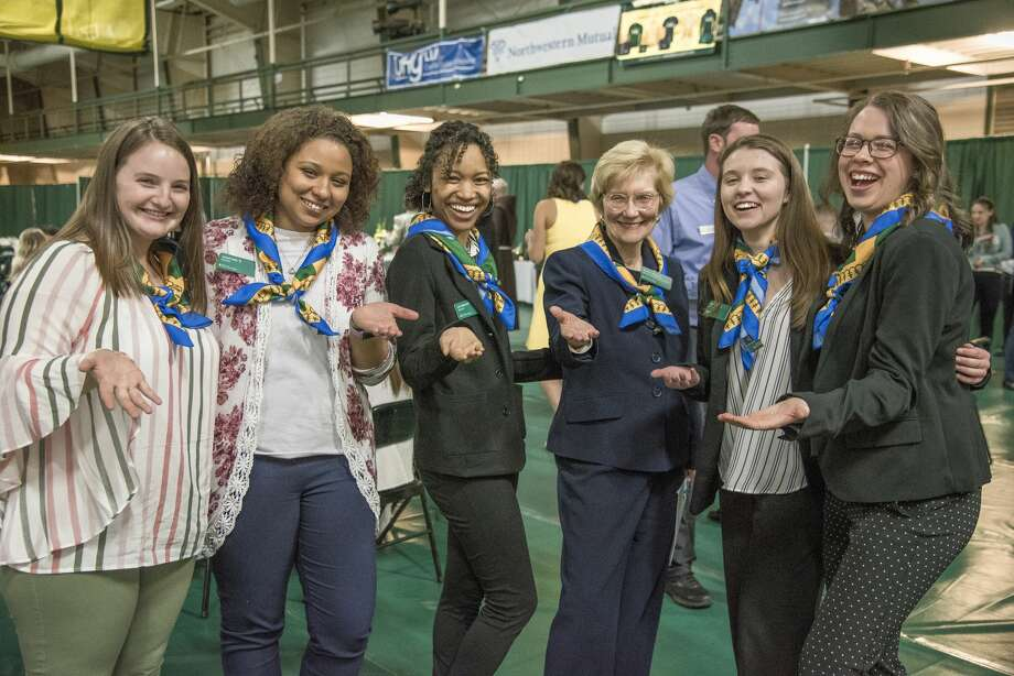 Were you Seen at the annual Siena College Scholarship Dinner on Thursday, April 11, 2019 at the Marcelle Athletic Complex/Alumni Recreation Center? Photo: Siena College