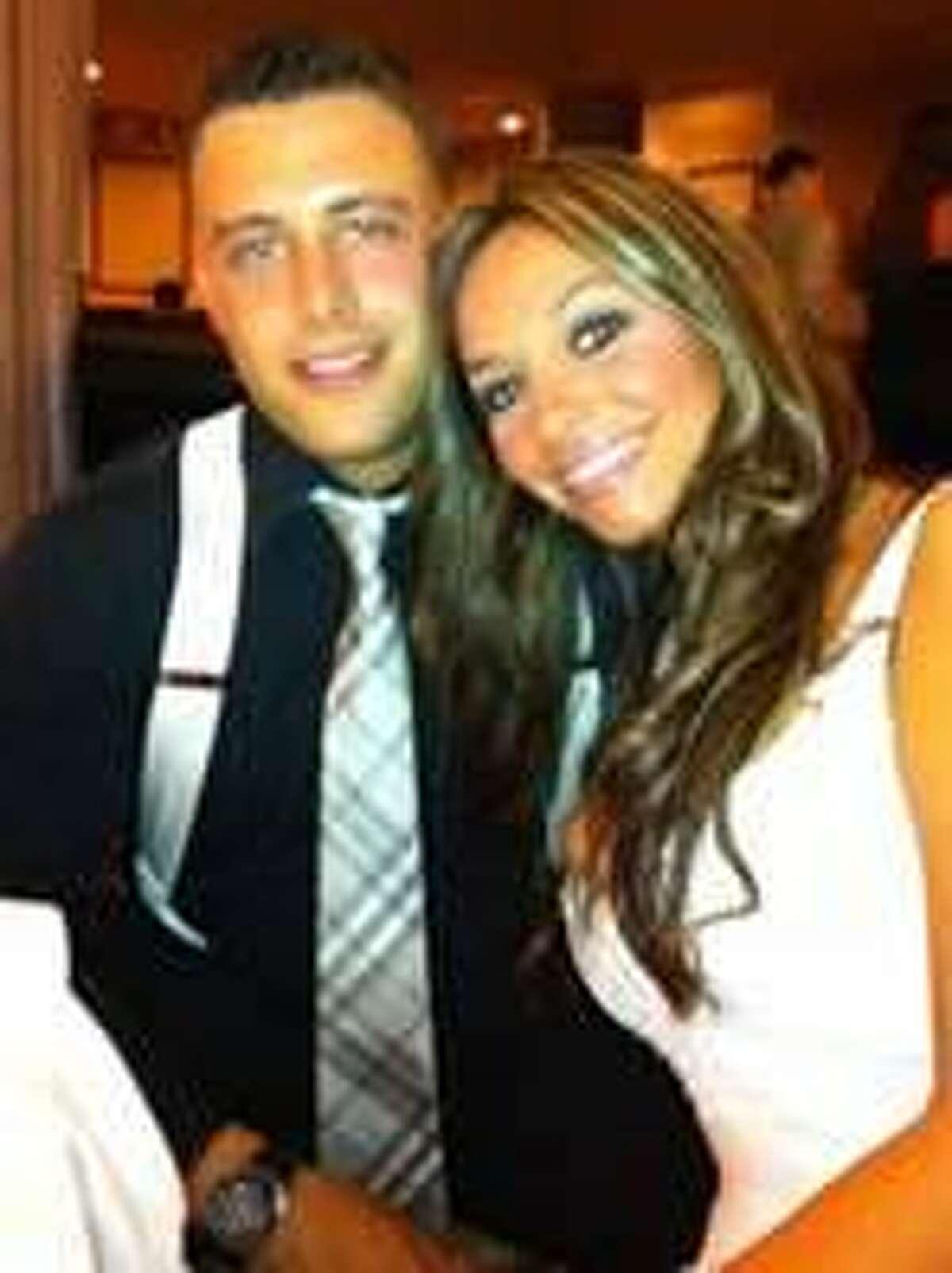 Joey Comunale and Elisa Libretto.
