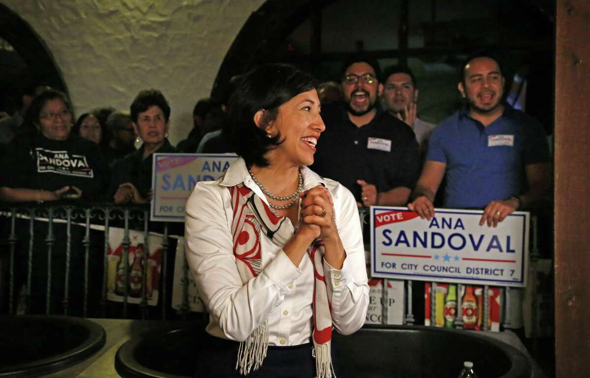 Ana Sandoval, seen here in May 2017, is running for reelection to her District 7 seat. She merits voter approval.