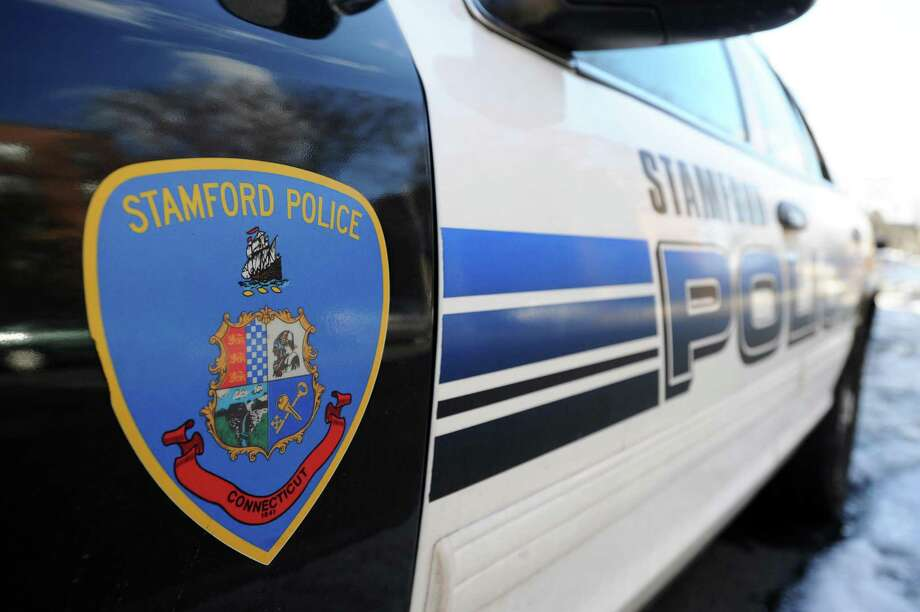 A Stamford police car is shown in Stamford, Conn., on Monday, Feb. 13, 2017. Photo: Michael Cummo / Hearst Connecticut Media / Stamford Advocate