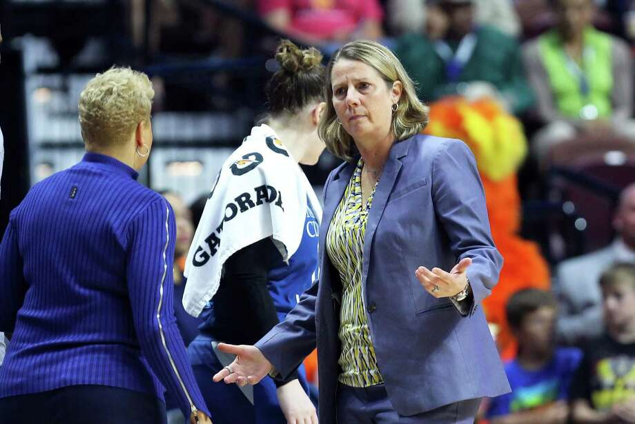 Lynx head coach Cheryl Reeve sees first-round draft pick Napheesa Collier of UConn as a do-everything talent who will make an immediate impact for Minnesota. Photo: M. Anthony Nesmith / Icon Sportswire Via Getty Images / ©Icon Sportswire (A Division of XML Team Solutions) All Rights Reserved ©Icon Sportswire (A Division of XML Team Solutions) All