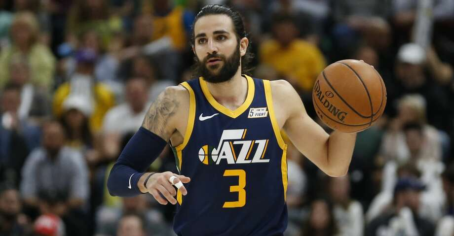 PHOTOS: Rockets game-by-game Utah Jazz guard Ricky Rubio (3) brings the ball up court during the second half of an NBA basketball game against the Los Angeles Lakers Wednesday, March 27, 2019, in Salt Lake City. (AP Photo/Rick Bowmer) Browse through the photos to see how the Rockets fared in each game this season. Photo: Rick Bowmer/Associated Press