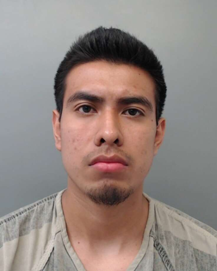 Miguel Santes-Santiago, 21, was charged with assault, family violence. Photo: Webb County Sheriff's Office