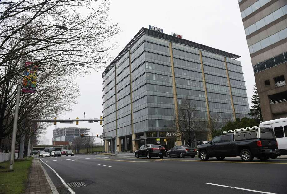 Royal Bank of Scotland's building at 600 Washington Blvd., in downtown Stamford, Conn. has sold for $163 million. RBS would remain, as a tenant, in the building for the next 12 years. Photo: Tyler Sizemore / Hearst Connecticut Media / Greenwich Time