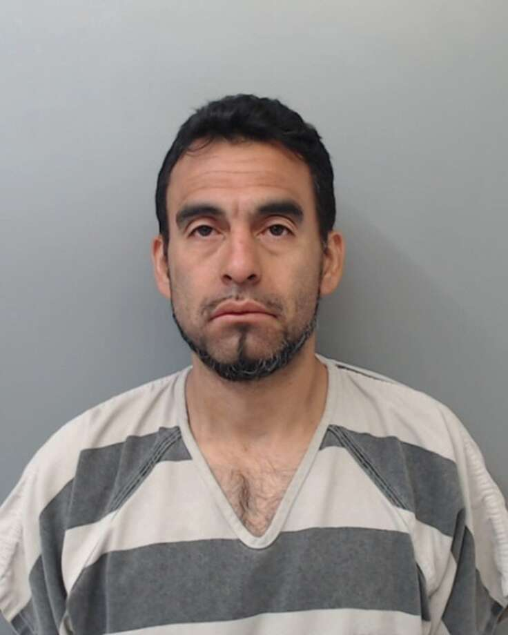 Porfirio Sanchez, 37, was charged with burglary of a vehicle. Photo: Webb County Sheriff's Office