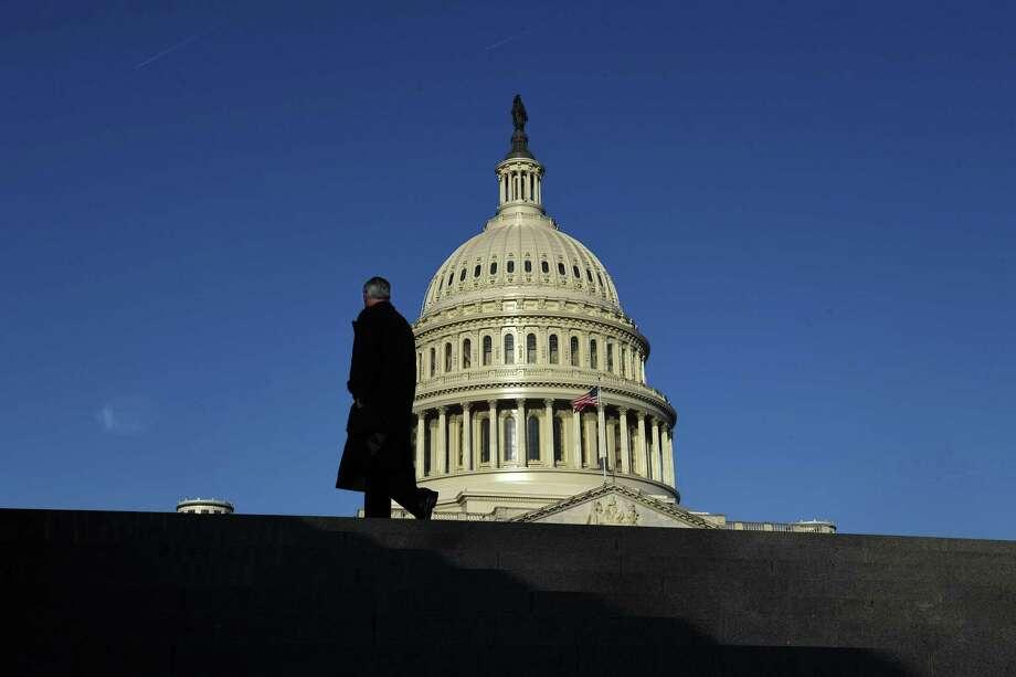 The U.S. Capitol dome Photo: Matt McClain / The Washington Post / The Washington Post