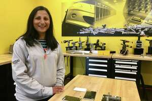 Rina Patel, manager of the Stanley Black & Decker factory in Danbury, part of the Engineered Fastening business, is working closely on the New Britain-based company's Manufactory 4.0 program, including a center of excellence in downtown Hartford.