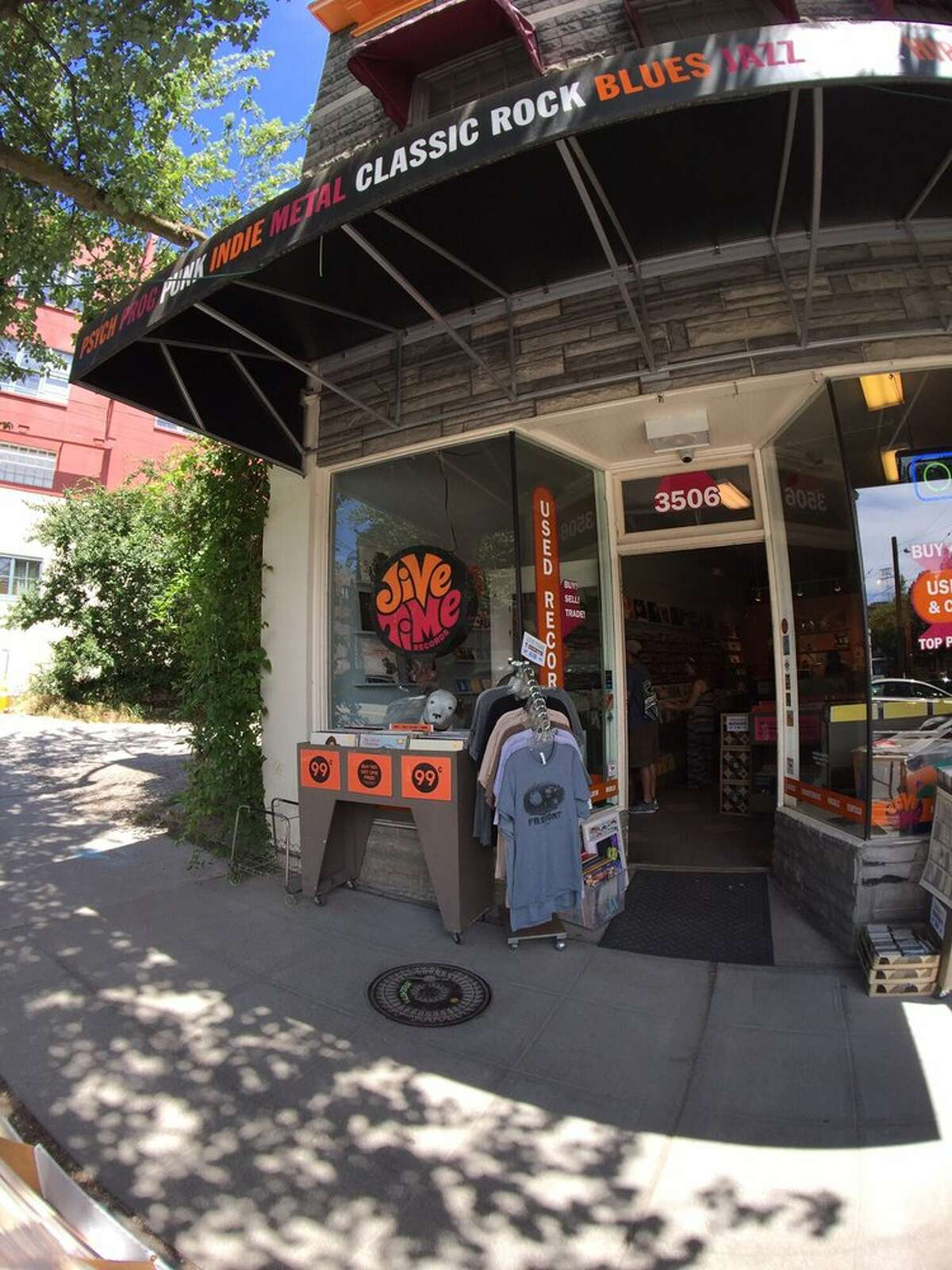 Jive Time Records The groovy front of this store speaks for itself.