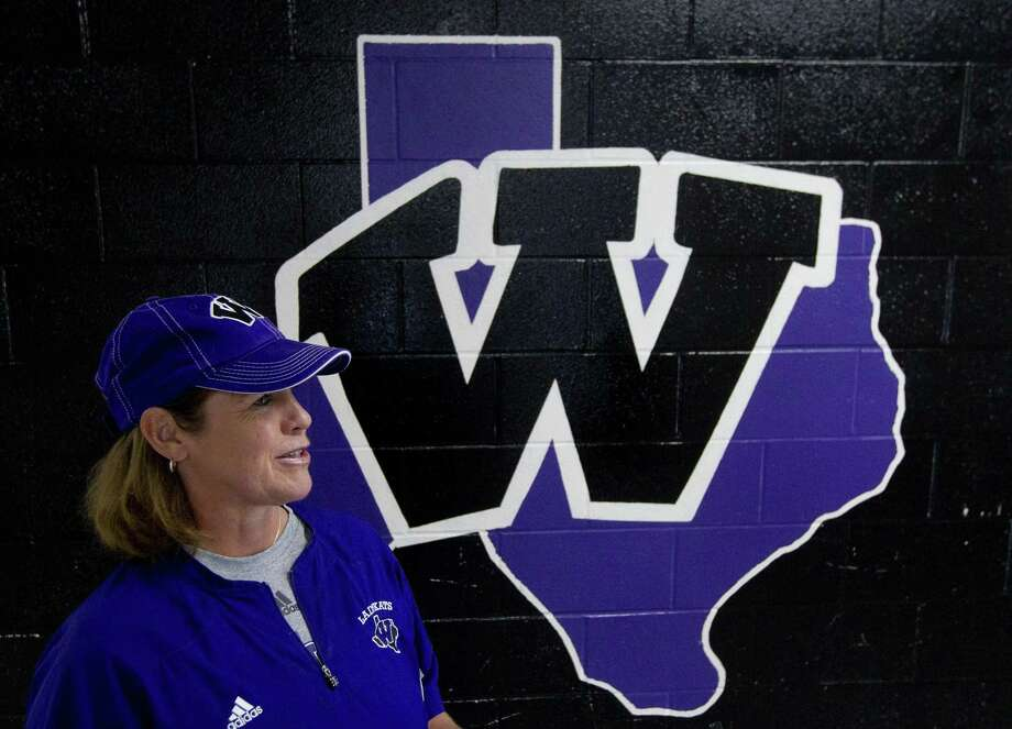 Stephanie Shelly, pictured here in 2017, was honored Friday as Willis named its softball field after her before its game against Lake Creek. Photo: Jason Fochtman, Staff Photographer / Houston Chronicle / © 2017 Houston Chronicle