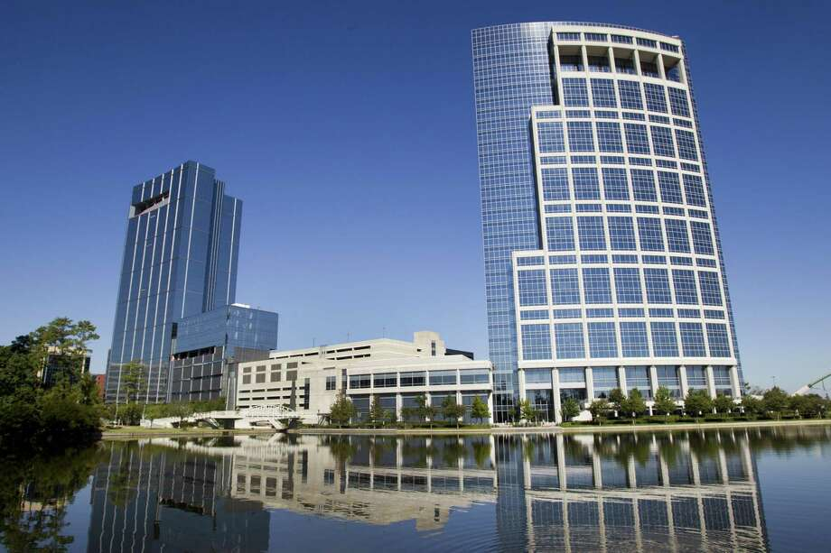 The Anadarko towers. The future of Anardarko's headaquarters in The Woodlands is up in the air following the company's acquisition by Occidental Petroleum. Photo: Brett Coomer, Staff / Houston Chronicle / © 2013 Houston Chronicle