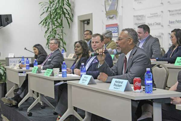 Fort Bend Chamber hosts Fort Bend ISD candidate forum