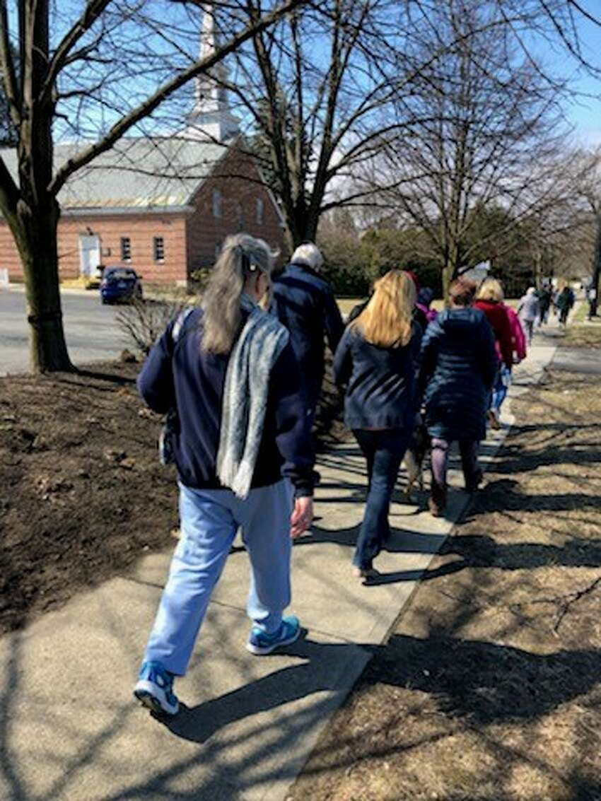 Maria College and the nonprofit Circles of Mercy raised nearly $13,000 at the second annual Walk for Mercy on Saturday in Albany, which benefits low-income and disenfranchised families in the Capital Region. (Photo courtesy of Eleanor Guerin)