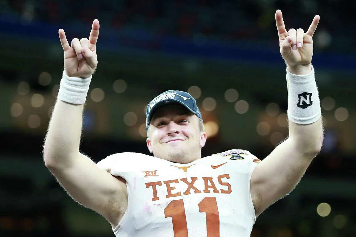 By all accounts, junior quarterback Sam Ehlinger hasn't been hindered by the shoulder injury he played through during the second half of last year, when he led Texas to a Sugar Bowl win.