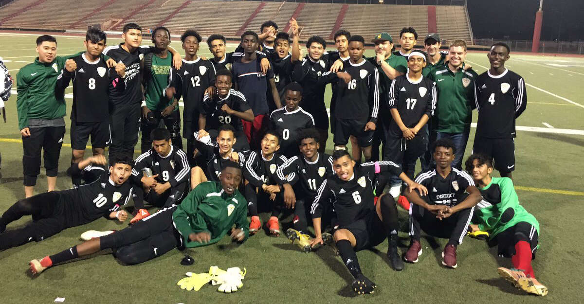 The Sharpstown boys soccer team defeated Texas City 1-0 to advance to its second Region III-5A tournament in three years. The Apollos improved to 19-2-2.